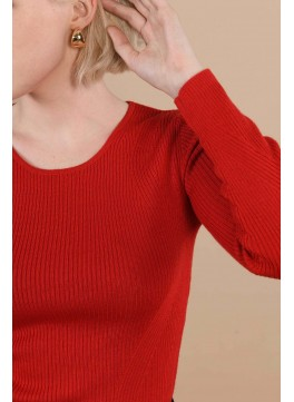 SALOME PULL - ROUGE